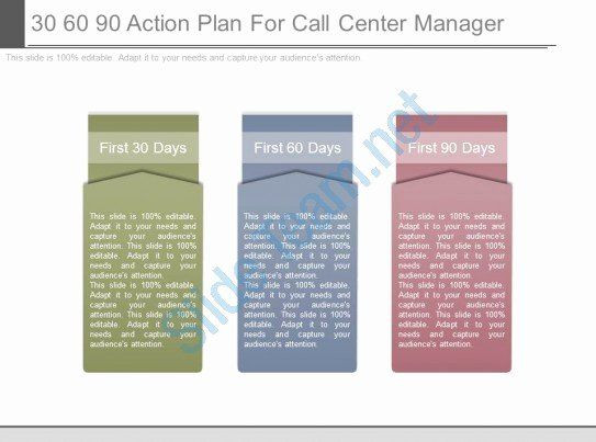 100 Day Plan Template Powerpoint 100 Day Action Plan Template Best 30 60 90 Action Plan