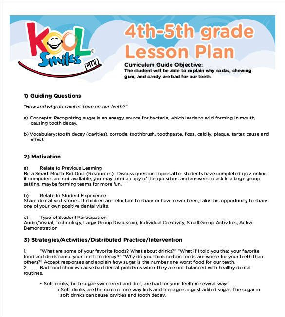 4th Grade Lesson Plan Template 4th Grade Lesson Plan Template Inspirational 59 Lesson Plan