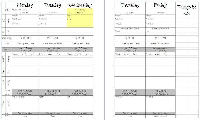 5 Day Lesson Plan Template 5 Day Lesson Plan Template Best Teacher Laura 5 Day