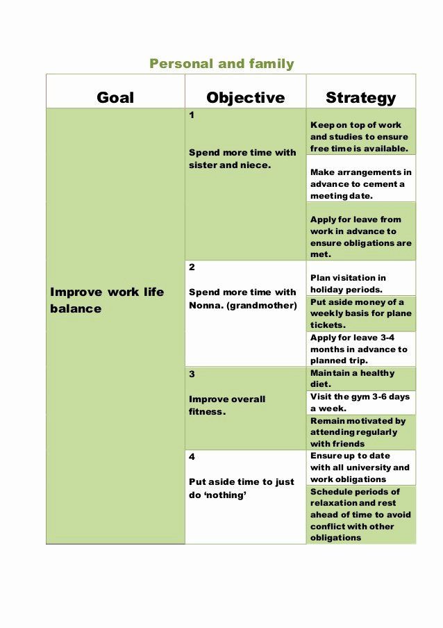5 Year Plan Template Five Year Plan Template New 5 Year Plan Template Personal In