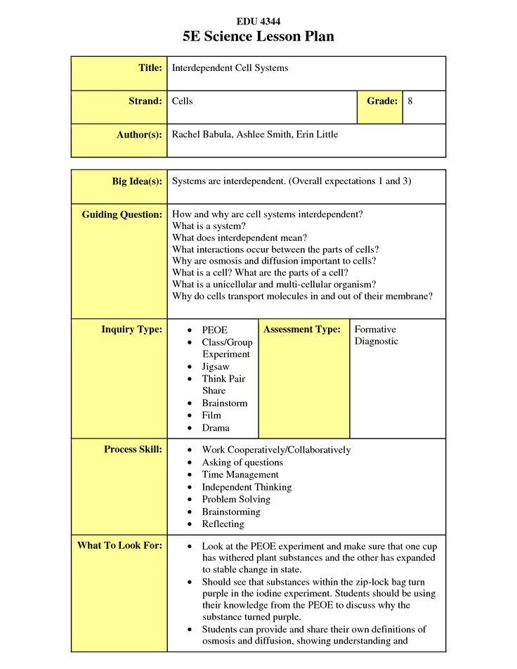 5e Science Lesson Plan Template Image Result for Examples Of Flex Model Lesson Plan