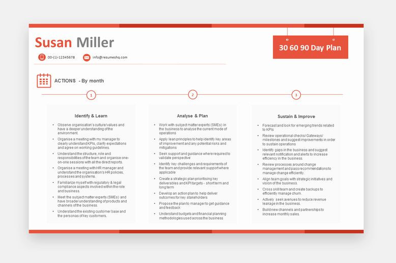 90 Day Onboarding Plan Template 30 60 90 Plan Templates Awesome 30 60 90 Day Plan Template