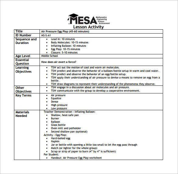 90 Minute Lesson Plan Template Simple Lesson Plan Template Word Check More at S