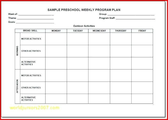 After School Lesson Plan Template Creative Curriculum Lesson Plan Template Inspirational