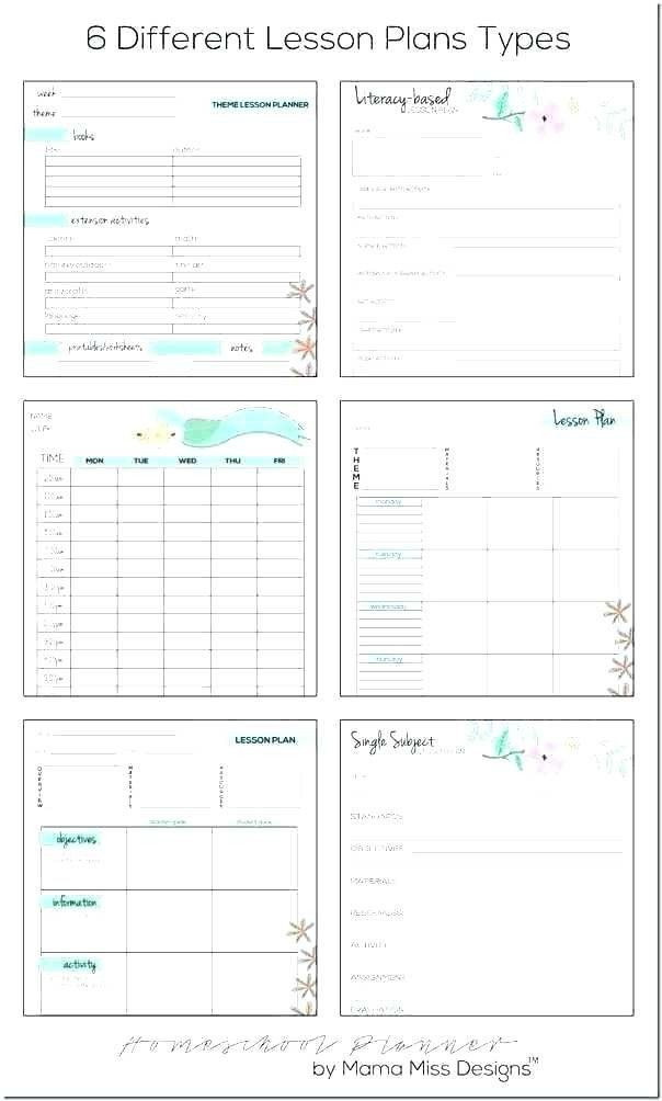 After School Lesson Plan Template Lesson Plan Book Template Free Teacher Lesson Plan Book
