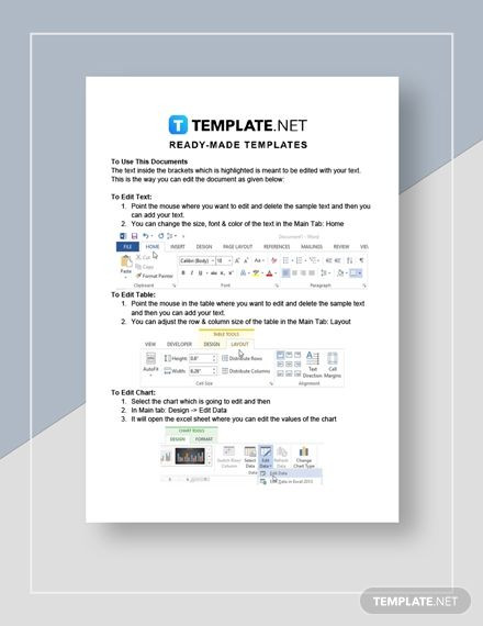 Apartment Marketing Plan Template Sublease Of An Apartment Template In 2020