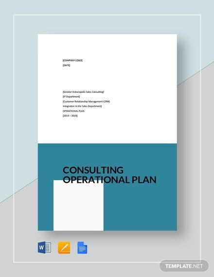 Apple Pages Business Plan Template Consulting Operational Plan Template Download 10 Plans In