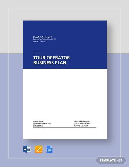 Apple Pages Business Plan Template tour Operator Business Plan Template Word