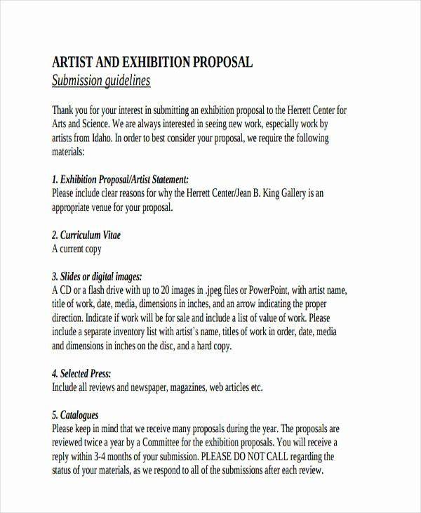 Artist Business Plan Template Art Project Proposal Example Pdf Unique Free 57 Proposal