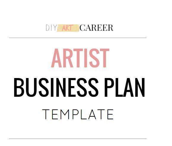 Artist Business Plan Template Artist Business Plan Template In 2020