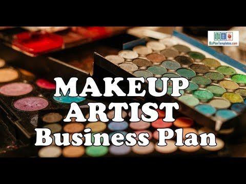 Artist Business Plan Template Makeup Artist Business Plan Template with Example & Sample