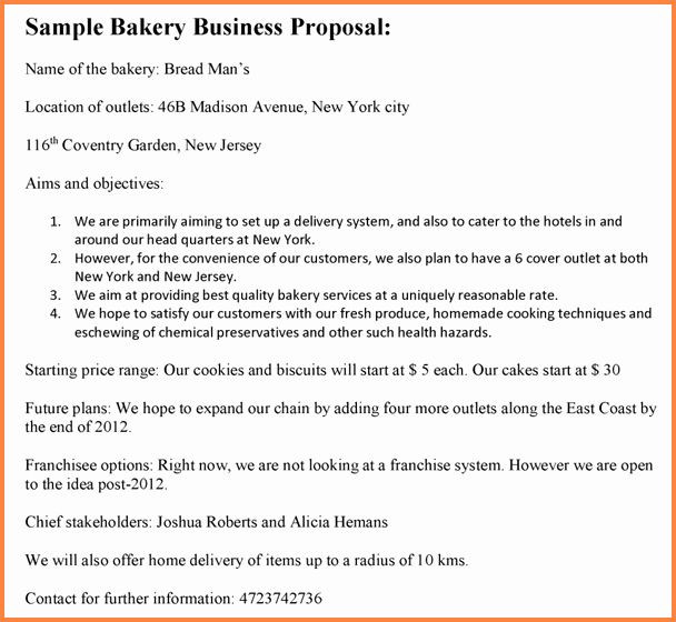 Bakery Business Plan Template Bakery Business Plan Template Awesome 8 Bakery Business