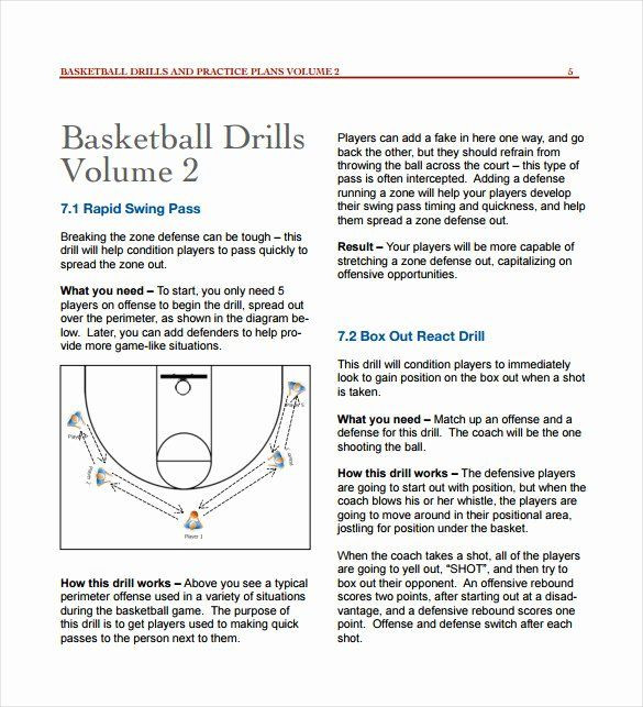Basketball Practice Plan Template Excel Basketball Practice Plan Template Excel Best 11