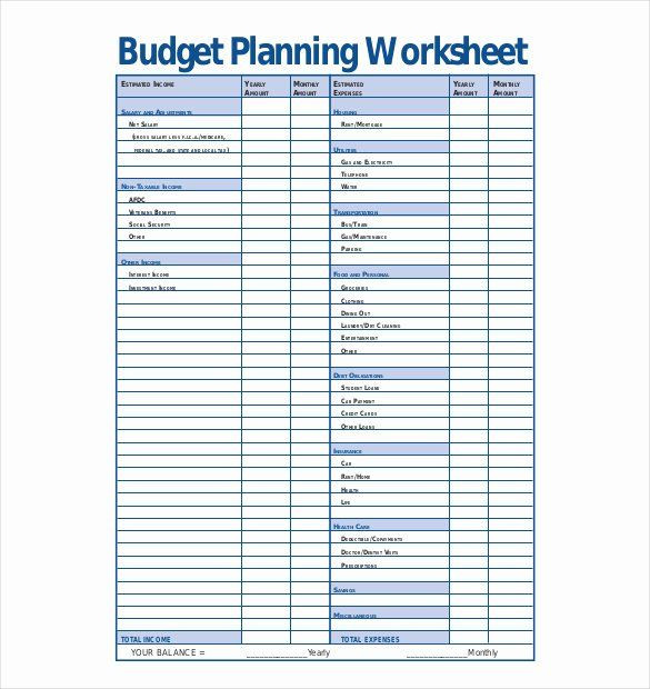 Budget Planner Template Free Free Bud Planner Template Awesome 13 Bud Planner