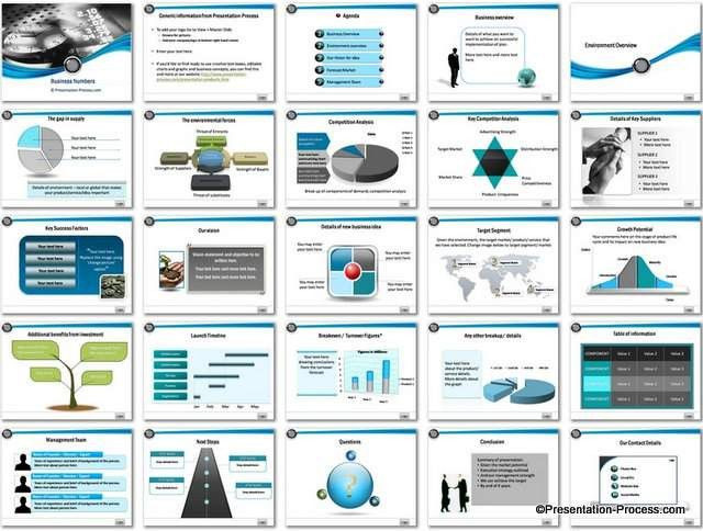 Business Plan Powerpoint Template Ppt Business Plan Template Unique Business Numbers