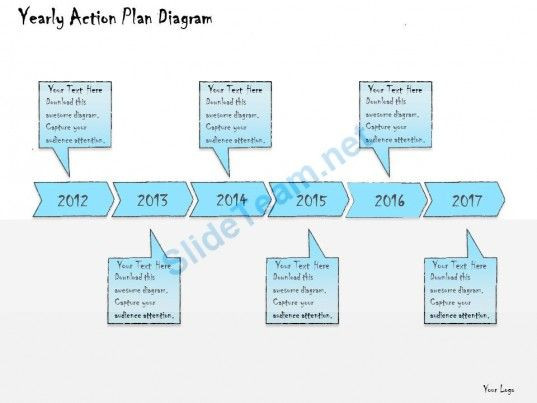 Business Plan Template Ppt 1013 Business Ppt Diagram Yearly Action Plan Diagram