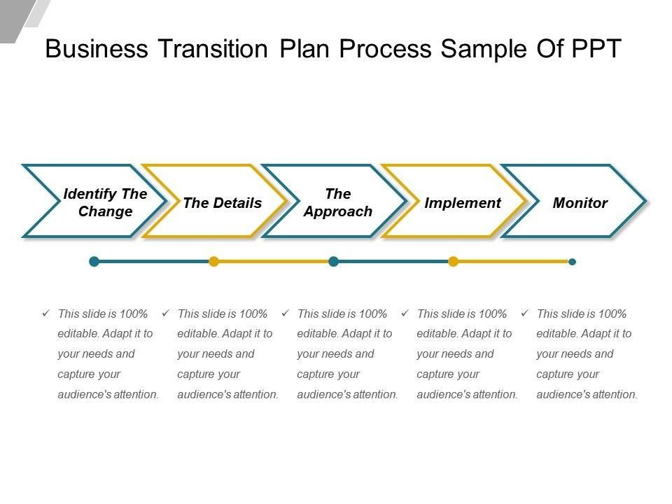 Business Transition Plan Template Business Transition Plan Template 4 Features Business