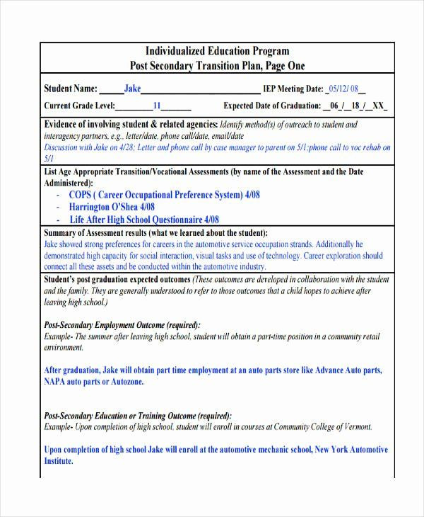 Business Transition Plan Template Business Transition Plan Template Lovely 10 Transition Plan