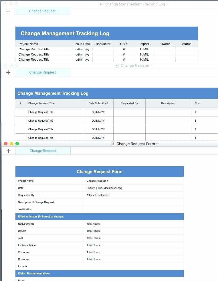 Change Management Plan Template Excel Transition Management Plan Template Unique Change Management