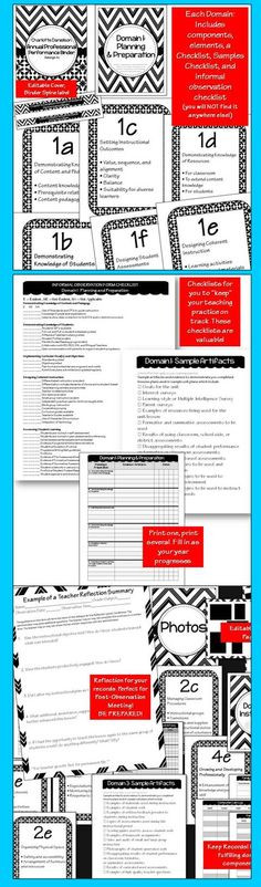 Charlotte Danielson Lesson Plan Template 10 Teacher Evaluation C Danielson Ideas