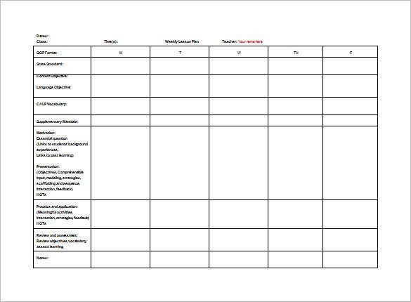 Co Teaching Lesson Plan Template Doc Pdf Excel Free & Premium Templates