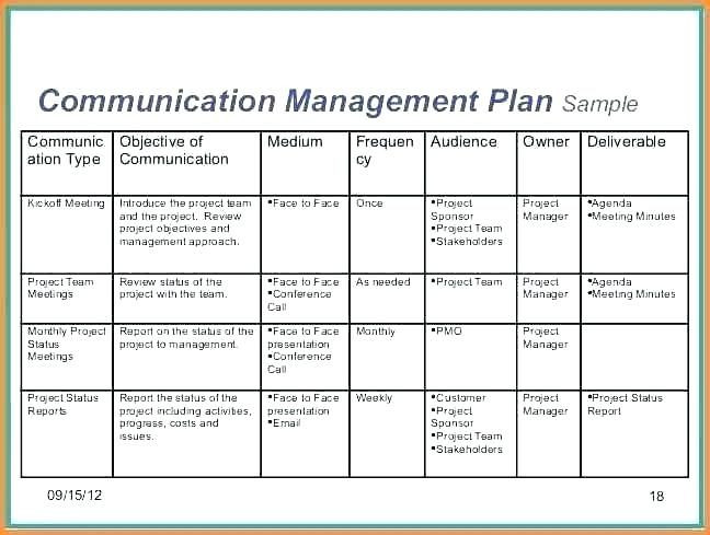 Communication Action Plan Template Project Plan Template Word Example Using Construction