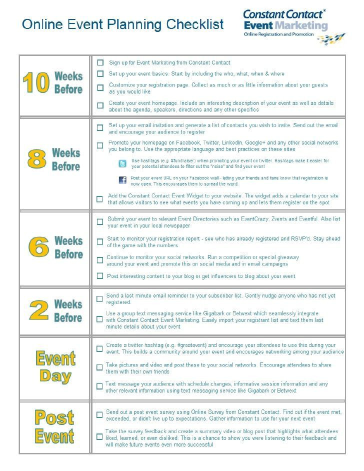 Conference event Planning Checklist Template Line event Planning Checklist How to Choose the Perfect