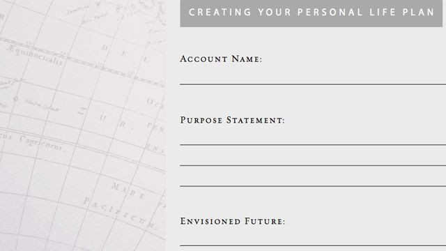 Create A Life Plan Template Create A Life Plan by Answering Three Questions