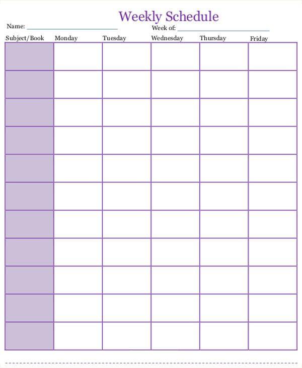Curriculum Planner Template Word Docs Free & Premium Templates