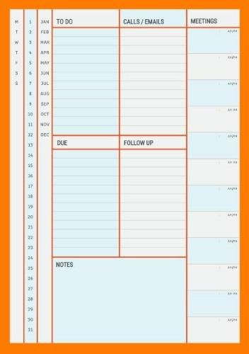 Custom Day Planner Template Pin On Printable Daily Planner Template Diy
