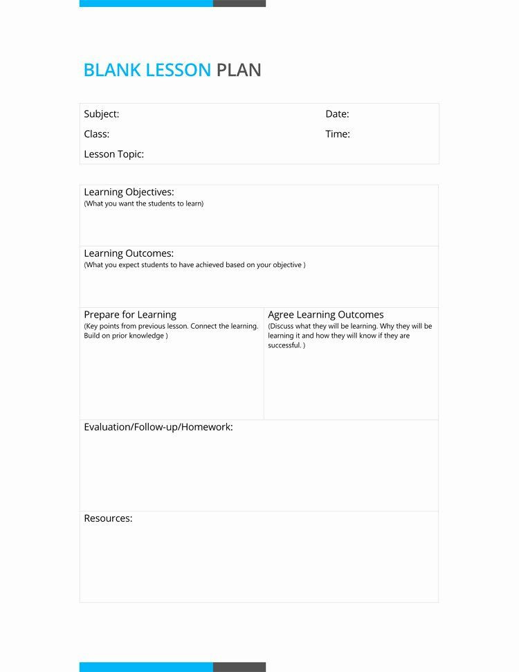 Daily Lesson Plan Template Doc Daily Lesson Plan Template Doc Inspirational 14 Free Daily