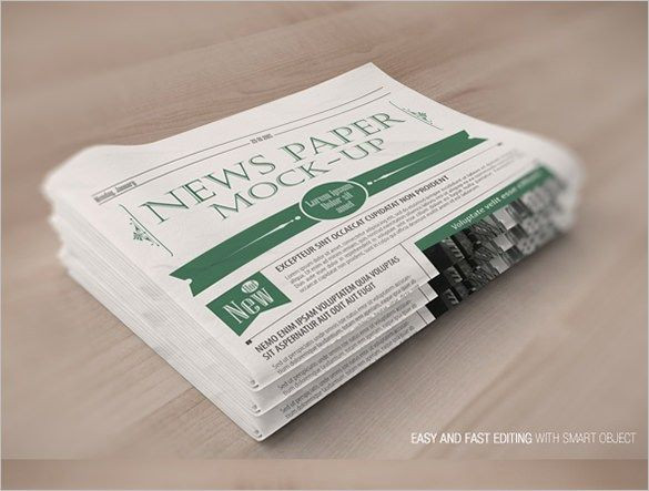 Daily Planet Newspaper Template Free Newspaper Template 91