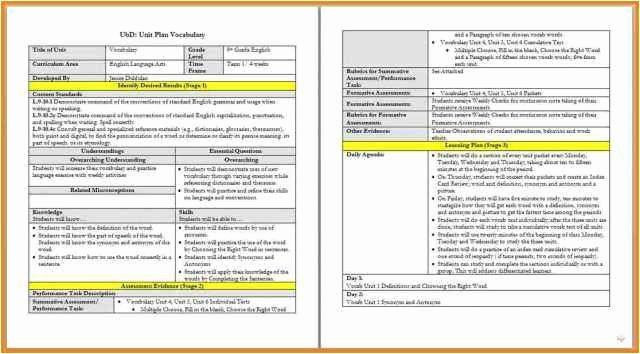 Danielson Framework Lesson Plan Template Pin On Customize Lesson Plan Template Printables