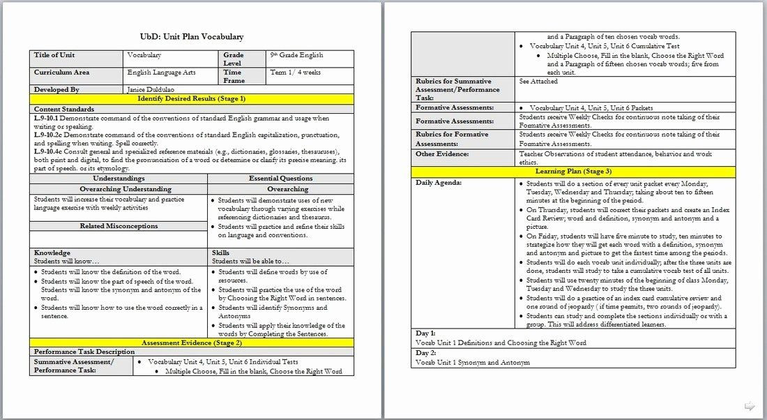 Danielson Lesson Plan Template Pdf Pin On Creating Examples Plan Templates