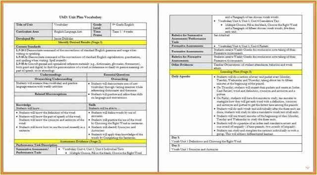 Danielson Lesson Plan Template Pdf Pin On Customize Lesson Plan Template Printables