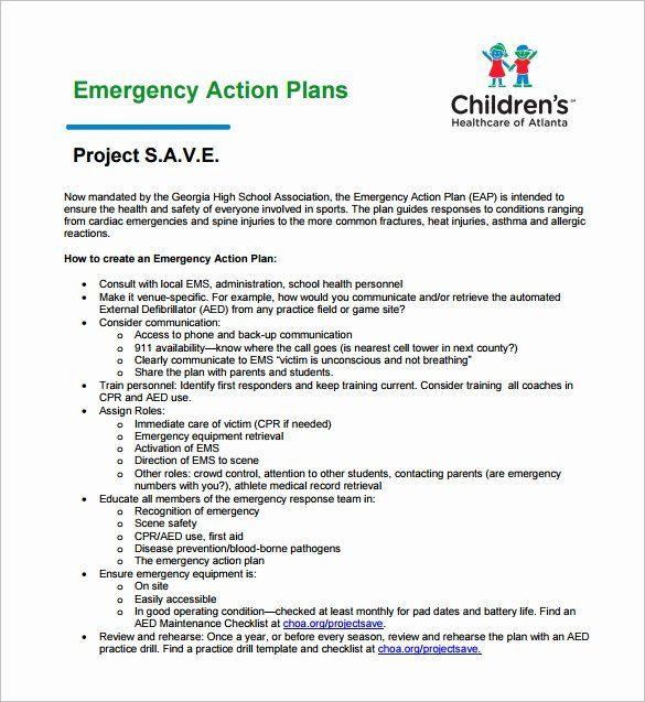 Daycare Emergency Preparedness Plan Template Hospital Emergency Preparedness Plan Template Best