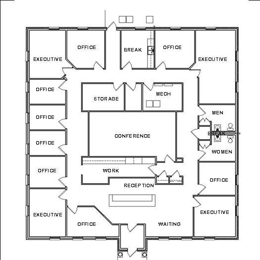 Design A Floor Plan Template Fice Design Plans House Space Planning Ideas Blueprint