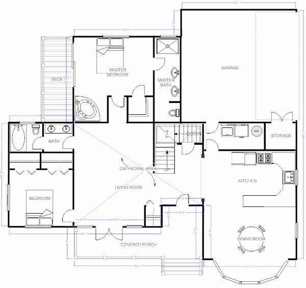 Design A Floor Plan Template Visio Floor Plan Template Unique Smartdraw Floorplan Visio