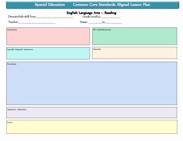 Edi Lesson Plan Template Pin On Lesson Plan Template Printables