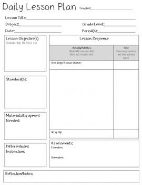 Edi Lesson Plan Template This is A Lesson Plan Template Great for Middle School and