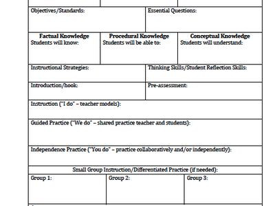 Edtpa Lesson Plan Template 2017 Muhmmad Khalde Muhmmadkhalde On Pinterest
