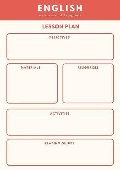 Eld Lesson Plan Template Eld Lesson Plan Template Customize 1 304 Lesson Plan