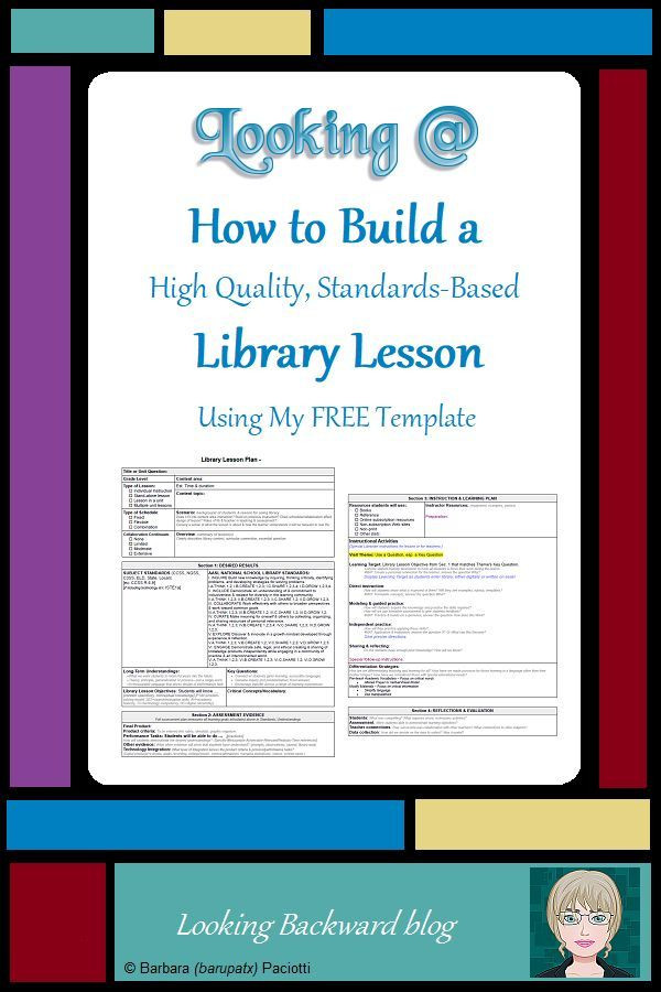 Elementary Library Lesson Plan Template Pin On Library Lessons