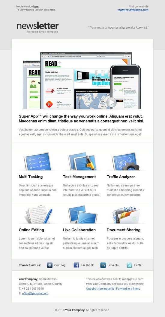 Email Marketing Campaign Plan Template Best Email Newsletter Templates for Your Brand Marketing