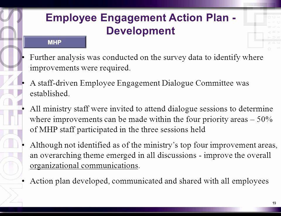 Employee Engagement Plan Template Employee Engagement Plan Template Fresh Overview Overview