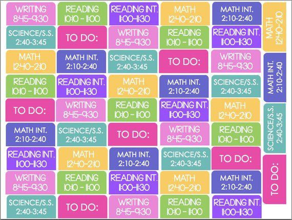 Erin Condren Lesson Planner Template Pin On organizing My Life