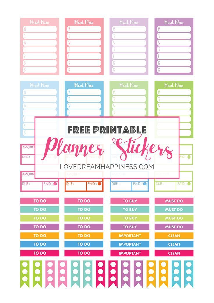Erin Condren Planner Stickers Template Free Printable Functional Planner Stickers for Your Erin