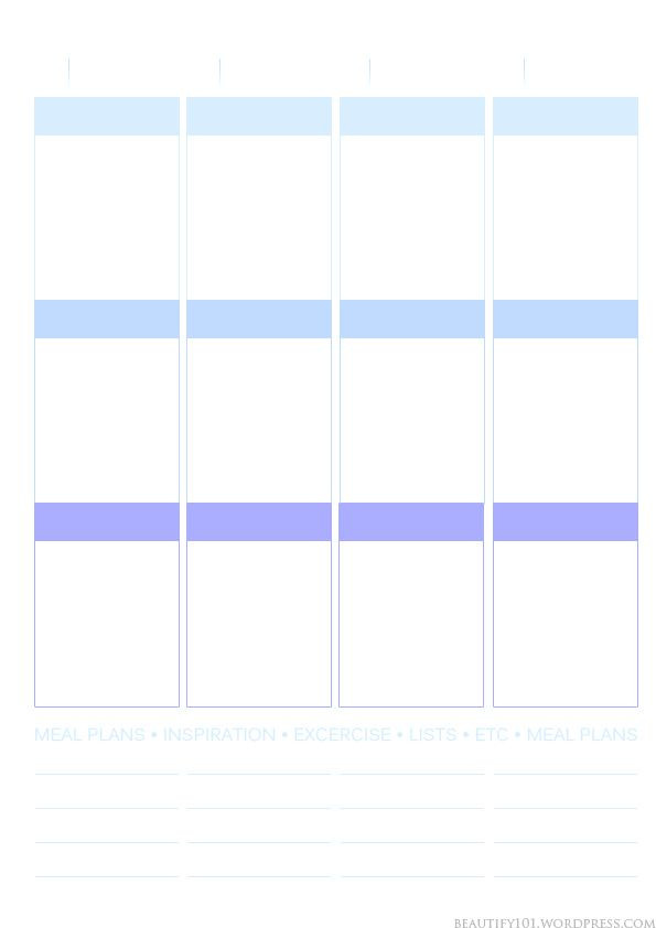 Erin Condren Planner Stickers Template Planner101 Free Printable Page Layout Erin Condren