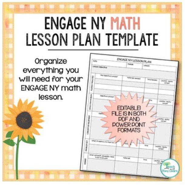 Eureka Math Lesson Plan Template Ny Math