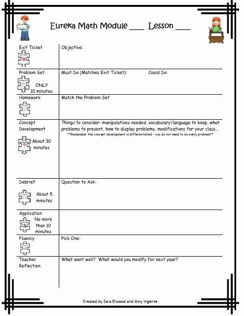 Eureka Math Lesson Plan Template Nys Lesson Plan Template Beautiful 23 Best Engage Ny Math